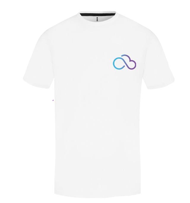 dundee web design cloud1337 white tshirt